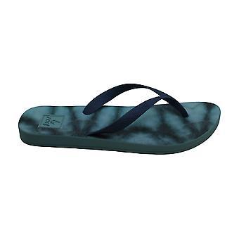 Reef. Escape Lux Tie-Dye Flip-Flop Sandals Grey Size 5M
