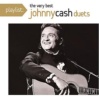 Johnny Cash - Playlist: The Very Best Johnny Cash Duets [CD] USA import