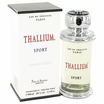 Thallium sport eau de toilette spray (limited edition) by parfums jacques evard 476775 100 ml