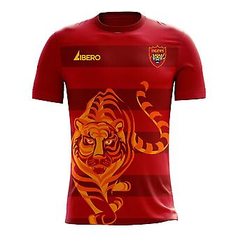 Guangzhou 2020-2021 Home Concept Football Kit (Libero) - Adult Long Sleeve