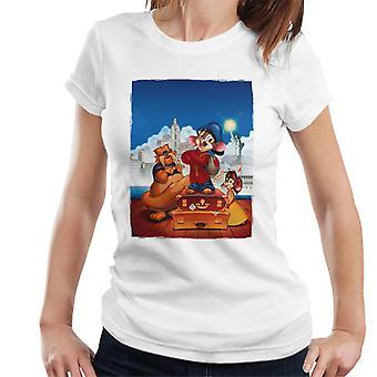 アメリカンテールフィーベルターニャとタイガー女性&アポ;s Tシャツ