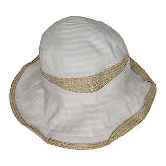 Physician Endorsed One Adjustabled UPF 50 Belle Epoque Hat White A347809