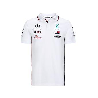 Mercedes AMG Petronas Mercedes Amg Petronas Motorsport F1™ Polo skjorte hvit 2020