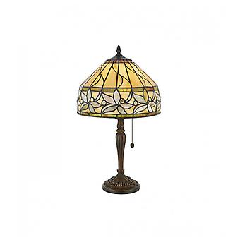 Ashtead Lampe 30 Cm, Glas und Harz