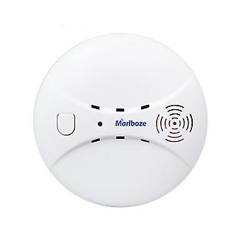 Wireless Smoke Detector, Photoelectric Fire Sensor For Home Security, Wifi/