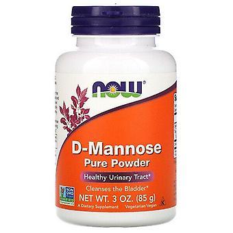 Now Foods, D-Mannose Pure Powder, 3 oz (85 g)