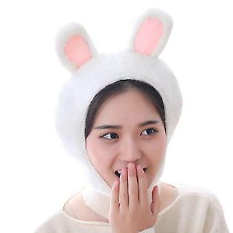 لطيف الضفدع الأرنب الحيوان Earflap الشتاء الحارة أفخم بيني كاب