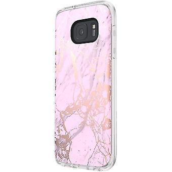 Incipio Marble Design Case for Samsung Galaxy S7 - Marble/Pink/Rose Gold