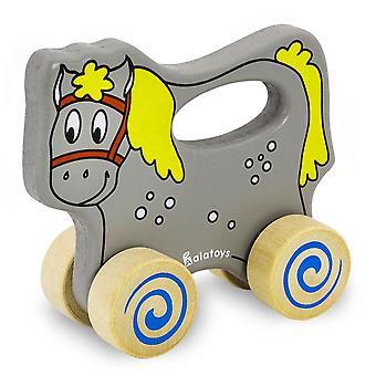 "Alatoys Wooden  Push&Pull ""Horse"""