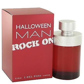Halloween Man Rock på Eau De Toilette Spray av Jesus Del Pozo 4.2 oz Eau De Toilette Spray