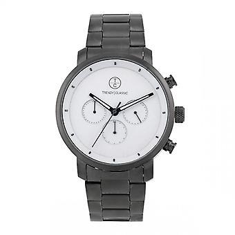 Trendy Classic horloge CM1045-03-impuls chronograaf Bo tier staal grijs stalen armband grijs grijs wijzerplaat grijs