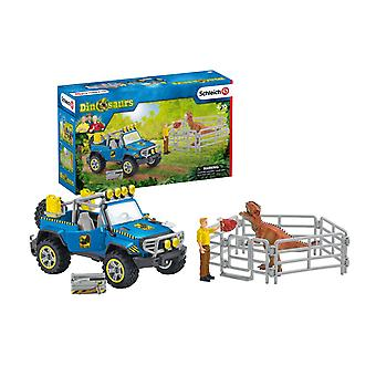 Schleich 41464 Off-Road Vehicle With Dino Outpost Dinosaur