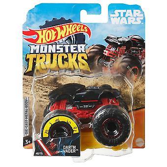 Hot wheels monster trucks 1:64 darth vader