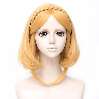 Lengend Of Zelda Wigs Princess Zelda Short Synthetic Hair Wigs