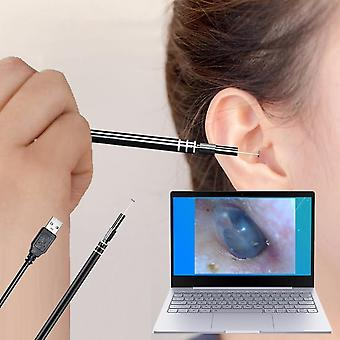 Usb Ear Cleaning Tool, Hd Visual Ear Spoon Multifunctional Earpick With Mini