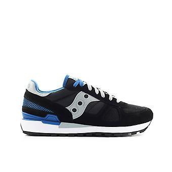 Saucony Shadow Original Black Blue Sneaker