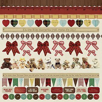 Kaisercraft - Teddy Bears Picnic 12x12 Sticker Sheet