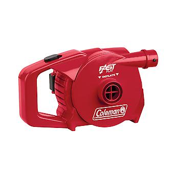 Coleman red 4d quickpump battery powered airbed pump
