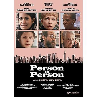 Person to Person [DVD] USA import