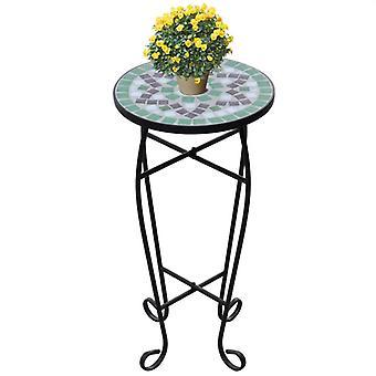 MOSAIC Sivupöytä Pöytä Bistro Pöytä Kukkateline Vihreä
