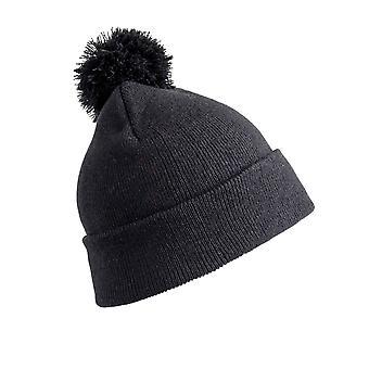 Chapeau de bonnet d'hiver plein air d'enfants de regard de Pom Pom