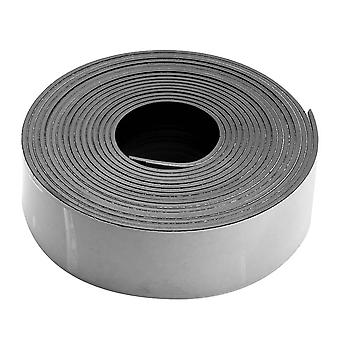 Final Sale - Craft And Hobby Peel And Stick Rubber Magnetic Tape 1 Inch Wide (10 Foot Roll)