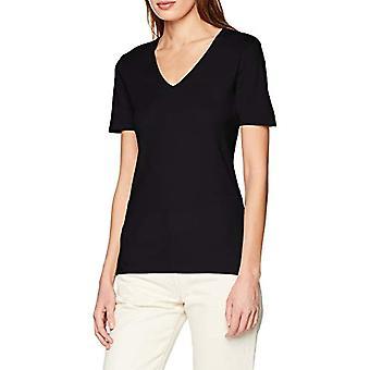 United Colors of Benetton 3GA2E4230 T-shirt, Black (Black 100), Large Woman