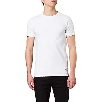 REPLAY M3404 .000.23112P T-Shirt, 001 White, XL Men's
