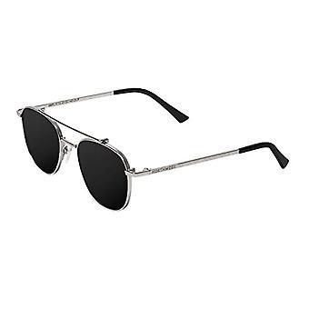 Northweek Falcon Sunglasses, Multicolor (Silver Metal/Black Polarized), 10.0 Unisex-Adult