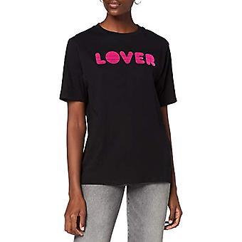 リプレイ W3180i.000.20994 Tシャツ, 098 ブラック, M 女性