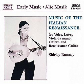 Shirley Rumsey - muziek van de Italiaanse Renaissance [CD] USA import