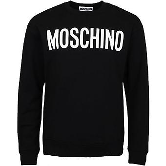 Moschino Couture Large Logo Crew Neck Sweat
