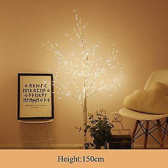 Led Silver Birch Indoor Moderni Luova Puu Lämmin Valkoinen Valaistus