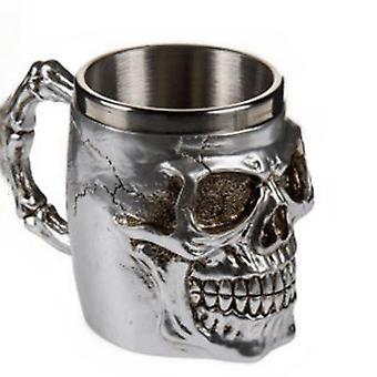 Skull Coffee Mug Skull Coffee Cup Stainless Steel Skeleton Coffee Cup