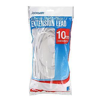 Jackson Extension Lead 10M White