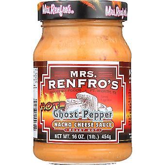 Mevrouw Renfro Sauce Nacho Chs Ghst Pppr, Koffer van 6 X 16 Oz