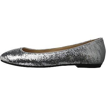 Brand - The Fix Women's Erica Round-Toe Sequin Ballet Flat