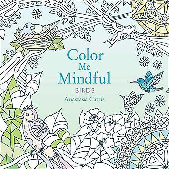 Färg mig mindful fåglar volym 2 av Anastasia Catris