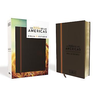 BIBLIA DE LAS AMERICAS  BIBLIA DE ESTUDIO PIEL by BIBLIA DE LAS AMERICAS