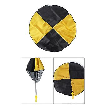 3pcs Parachute Toy Children's Flying Toys For Kids Gifts(Yellow)