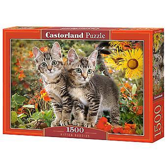 Castorland Kitten Buddies Jigsaw Puzzle (1500 Pieces)