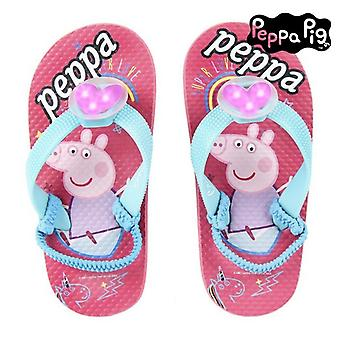 Flip-flops with LEDs Peppa Pig