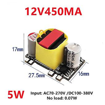 Ac-dc 5v 700ma 12v 450ma 5w precision buck converter ac 220v to 5v dc step down transformer power supply module
