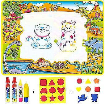 Children Doodle Mat Board With Water Drawing Pen,110*80 cm