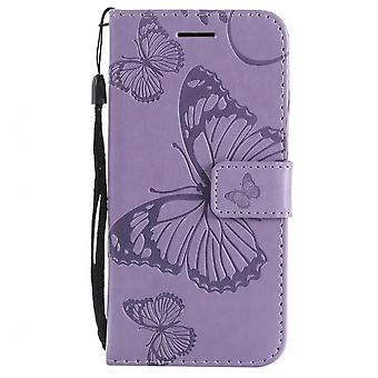 Phone Case For Frame Apple Iphone 7/ 8/se 2020 Capa Pu Leather Stand Covers Single Color
