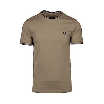 Fred Perry Twin Tippad T-shirt Sage