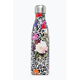 الضجيج ليوبارد الأزهار زجاجة مياه معدنية