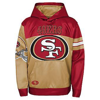 Kids NFL Sublimated Hoody - GOAL San Francisco 49ers