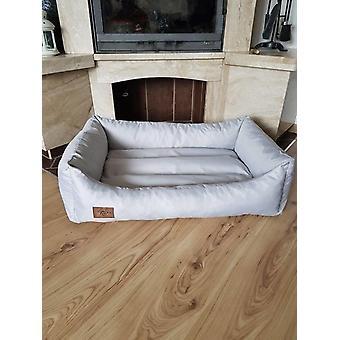 XXL Leatherette koiran sänky - koiran tyyny koira vuodesohva kissan sänky koiran kori - vedenpitävä 90 X 60 cm