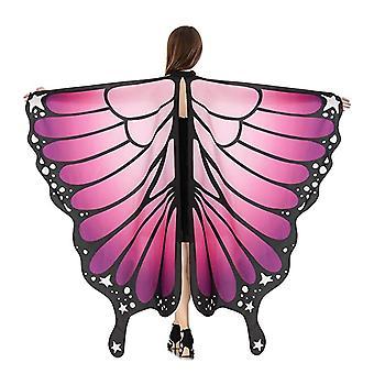 Naiset Halloween Party Butterfly Wings Huivi Mekko Viitta